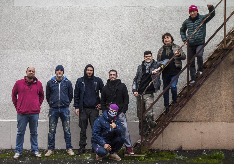 Poitiers 2017 - 1 mur, 9 artistes