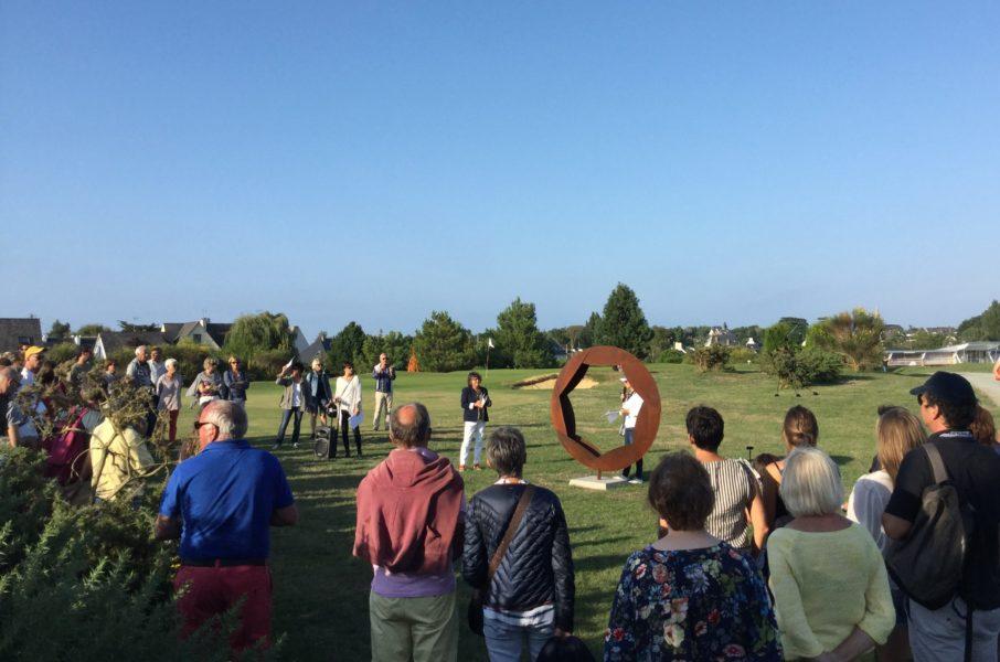 Très «practice» : France 3 Bretagne nous a rejoint à Lancieux
