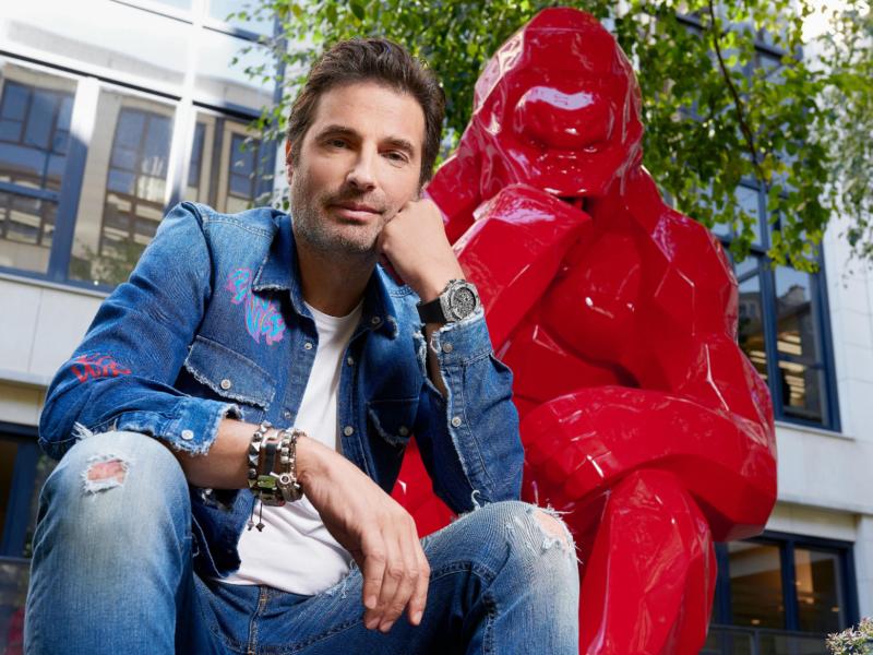 «Les Espèces Sauvages» de Richard Orlinski envahissent le Parc de Sculptures du Château des Pères