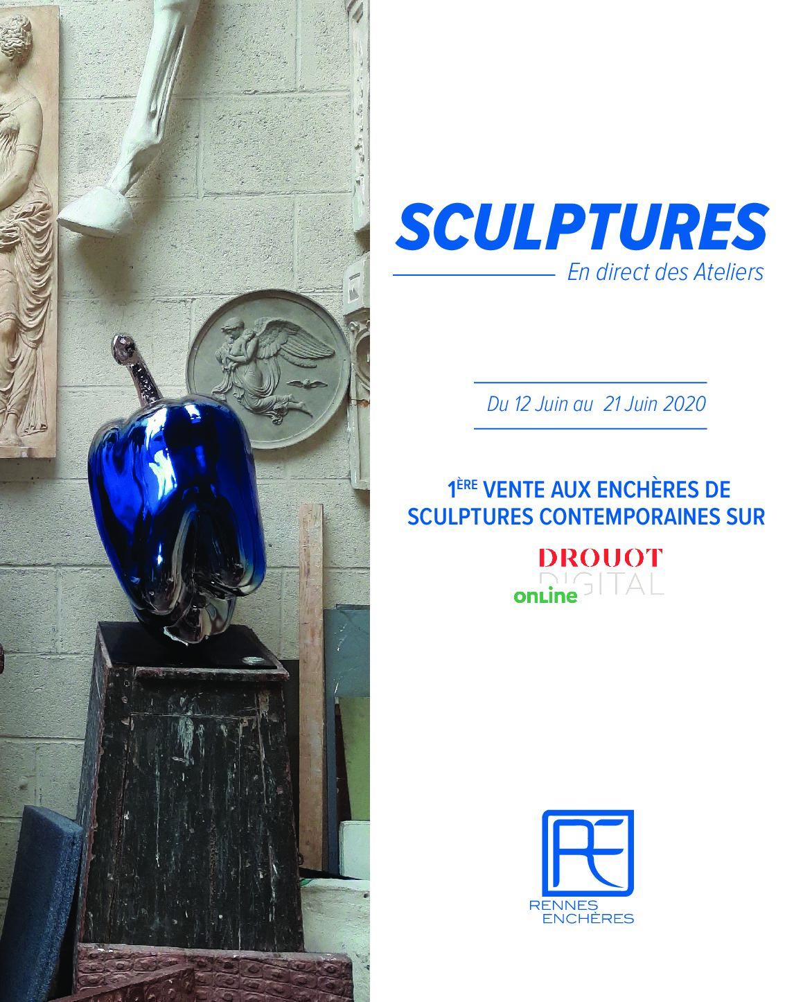 Vente aux Enchères Online de Sculptures du 12 au 21 juin